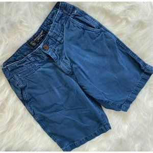 American Eagle Outfitters Chino Shorts Blue Cotton